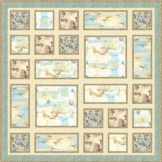 Seaside Cottage quilt top | abmt quilt ideas | Pinterest | Quilt ... : seaside quilt - Adamdwight.com