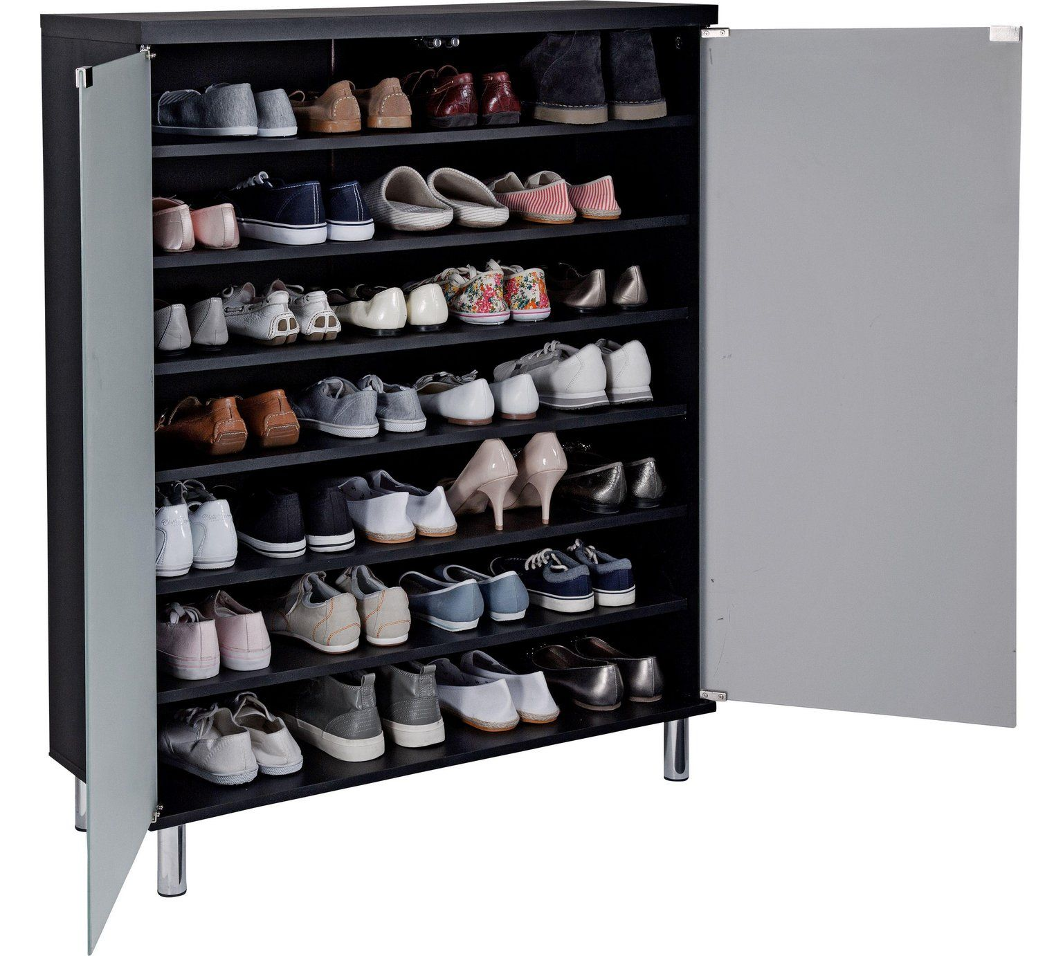 laminate garden prepac white shipping shoe today winslow overstock space home saving cabinet product free storage