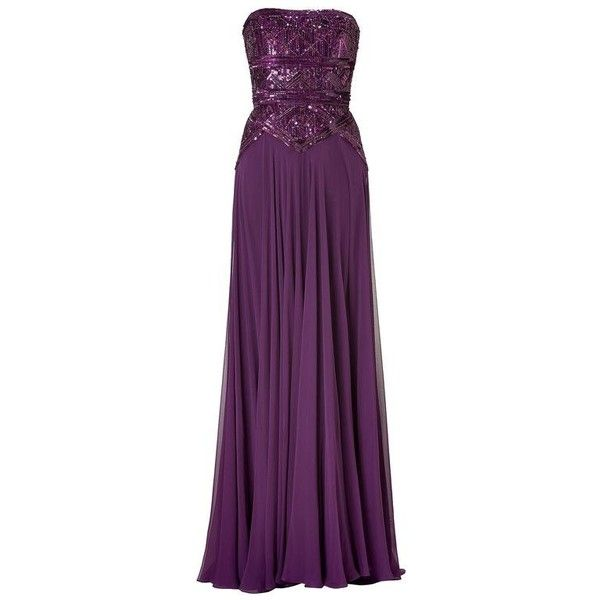 Fabulous Bridesmaids Dresses in Pantone's Fall 2013 Fashion Colours ❤ liked on Polyvore featuring dresses, purple dress, bridesmaid dresses and purple bridesmaid dresses