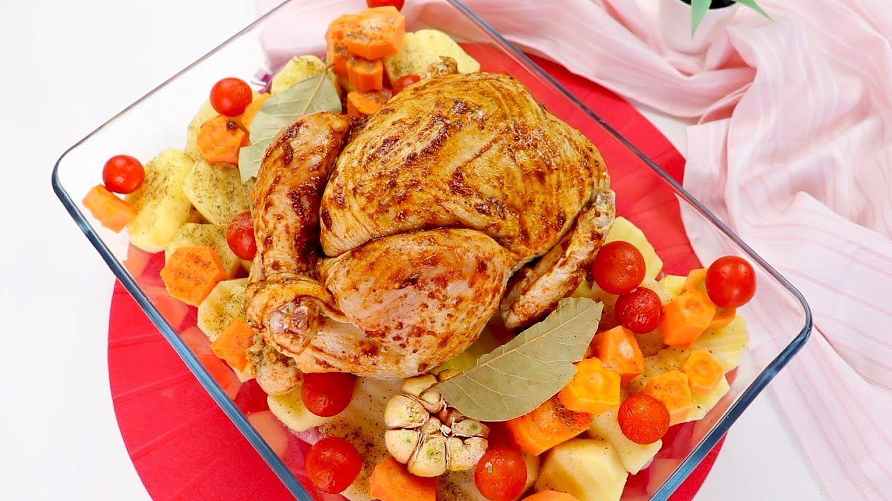 فراخ رستو مشوية مع أرز بخاري بنكهة الفحم وجبة غدا سهلة وسريعة والطعم ي Food Chicken Turkey