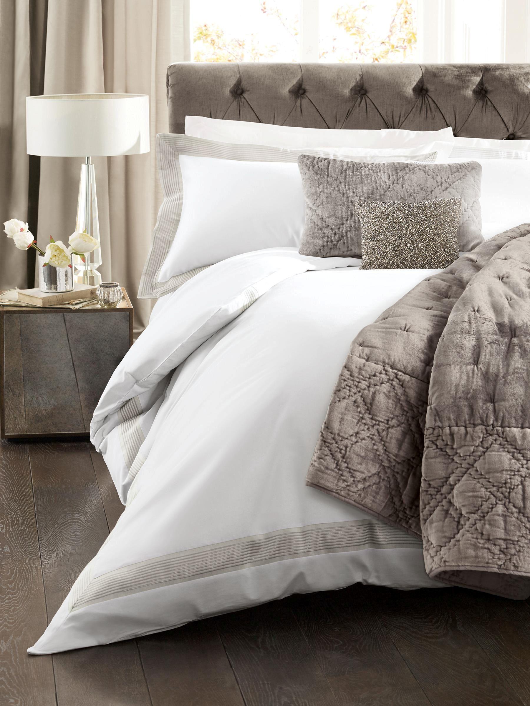 Buy Set 2 Jacquard Border Oxford Pillowcases from the Next UK