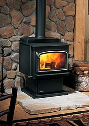 woodstove with stone wall heating our house wood stove or outdoor rh pinterest com