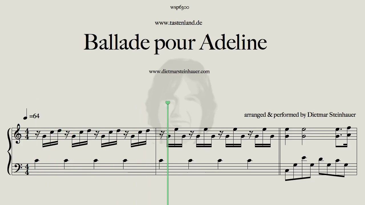 Ballade Pour Adeline Piano Songs Playing Piano Songs