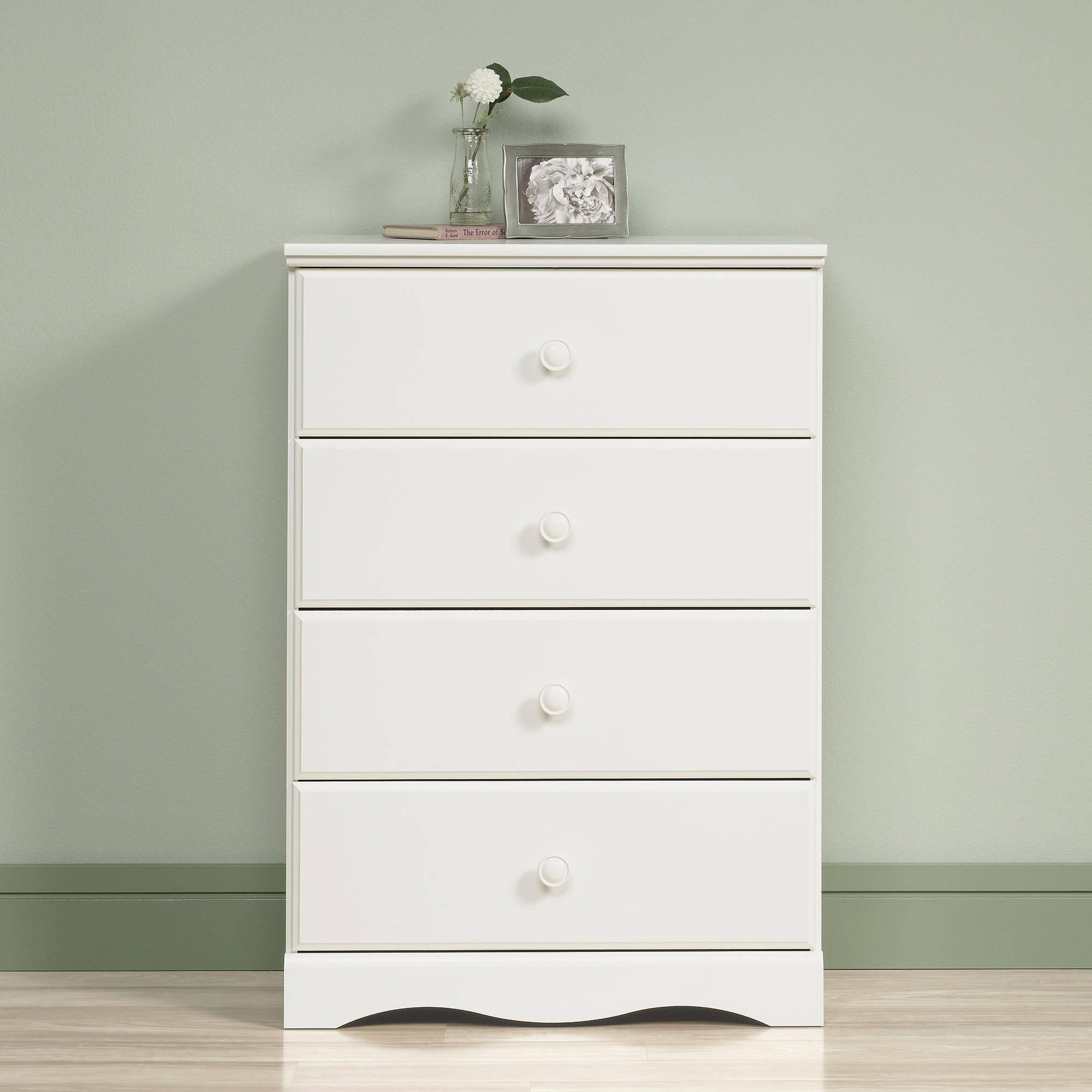 Sauder Storybook  Drawer Chest Soft White Finish