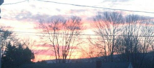 Sunrise April 16 2013
