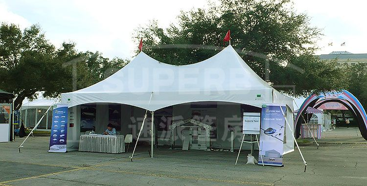 The marquee tent is a cross between the pole tent and the frame tent. It combines the convenience of the freestanding metal frame tent with the aesthetic of ... & 10x10 Marquee Tent/Technical Parameters/Frame Structure/Inquiry ...