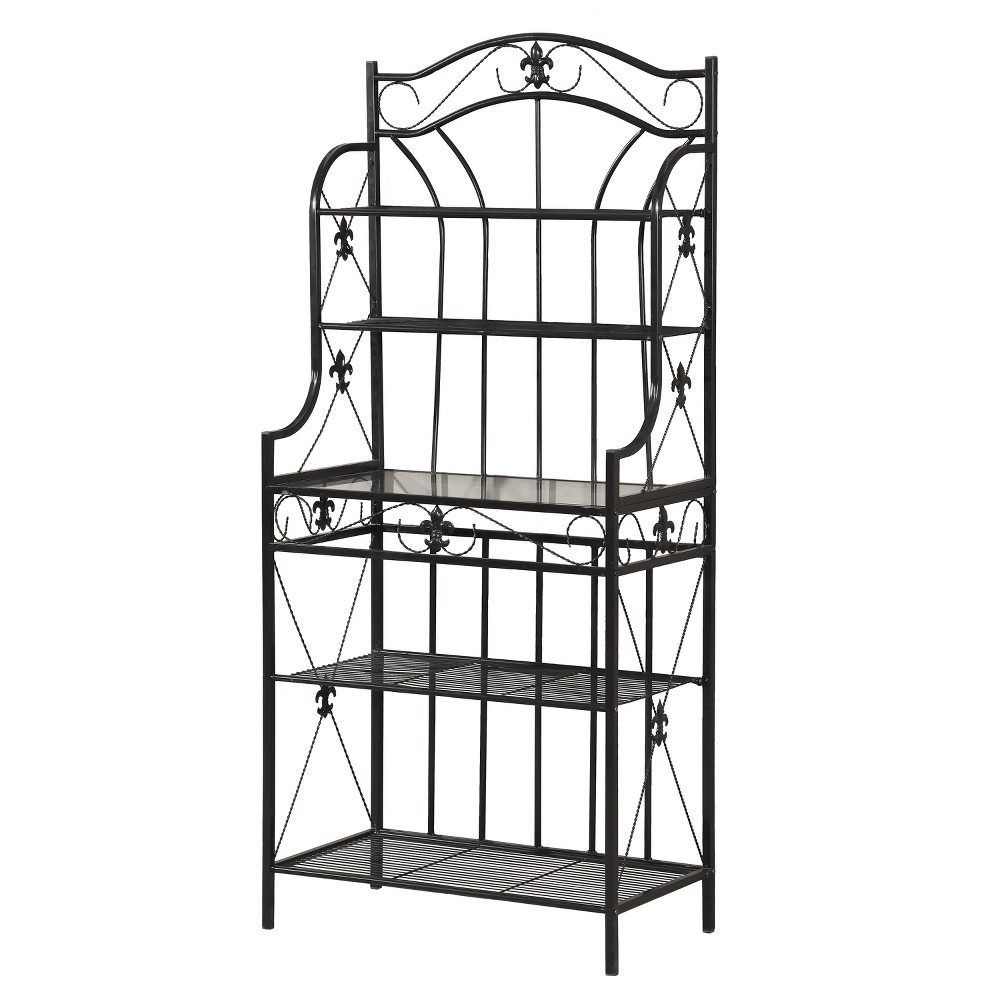 Baker S Rack Black Home Source Industries Ikea Makeover Diy Projects Small