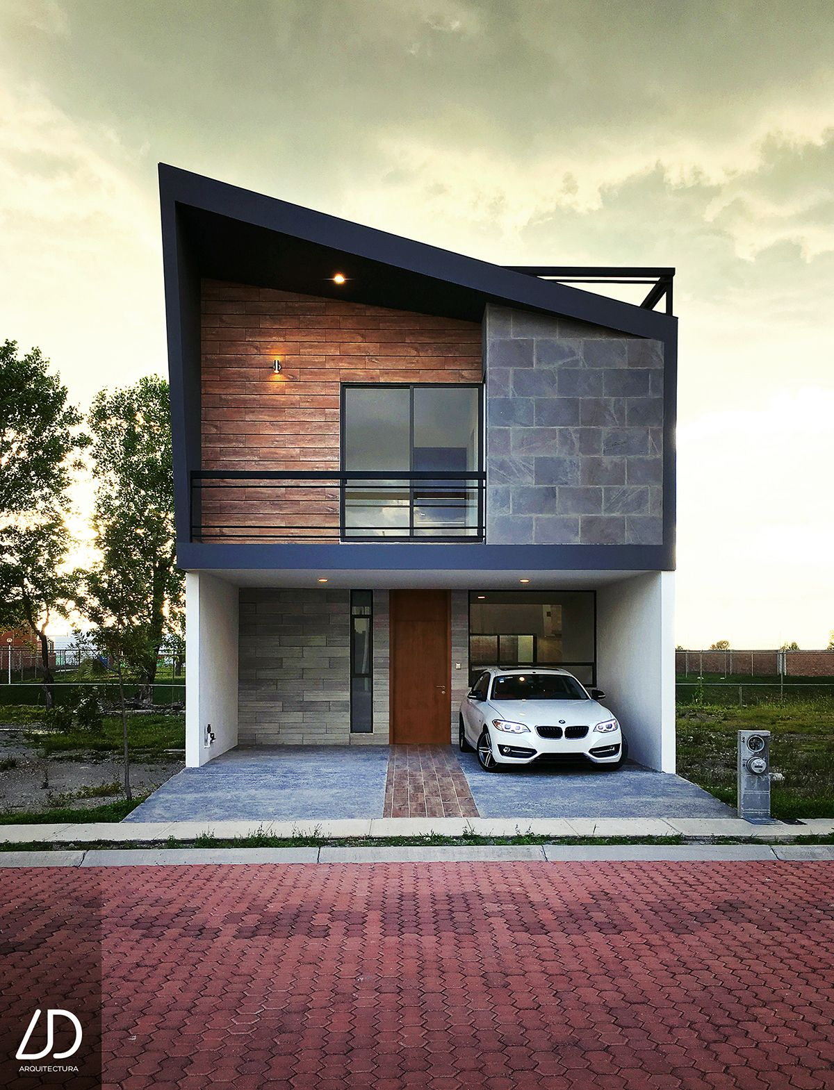 Modern Home Located In Montonate Italy: 3 Floor House Located In Puebla Mexico With A Contemporary