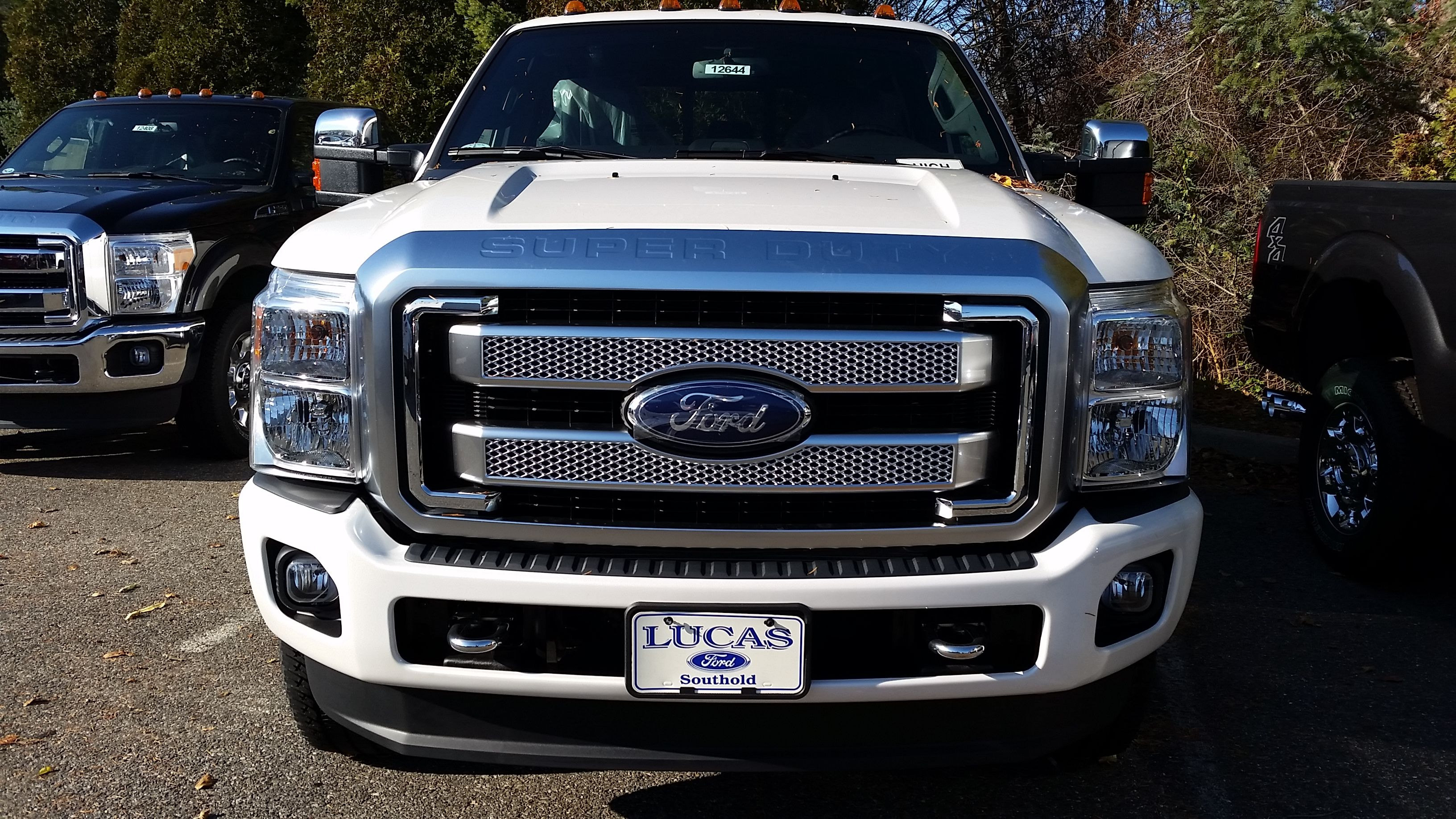 Ford f 350 super duty platinum grille