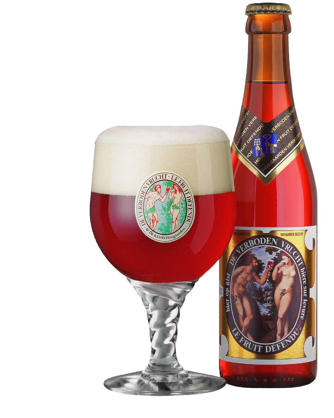 Fruit Defendu Verboden Vrucht Beer Glassware Hoegaarden Wine And Beer