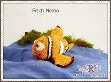 Häkelanleitung Fisch Nemo