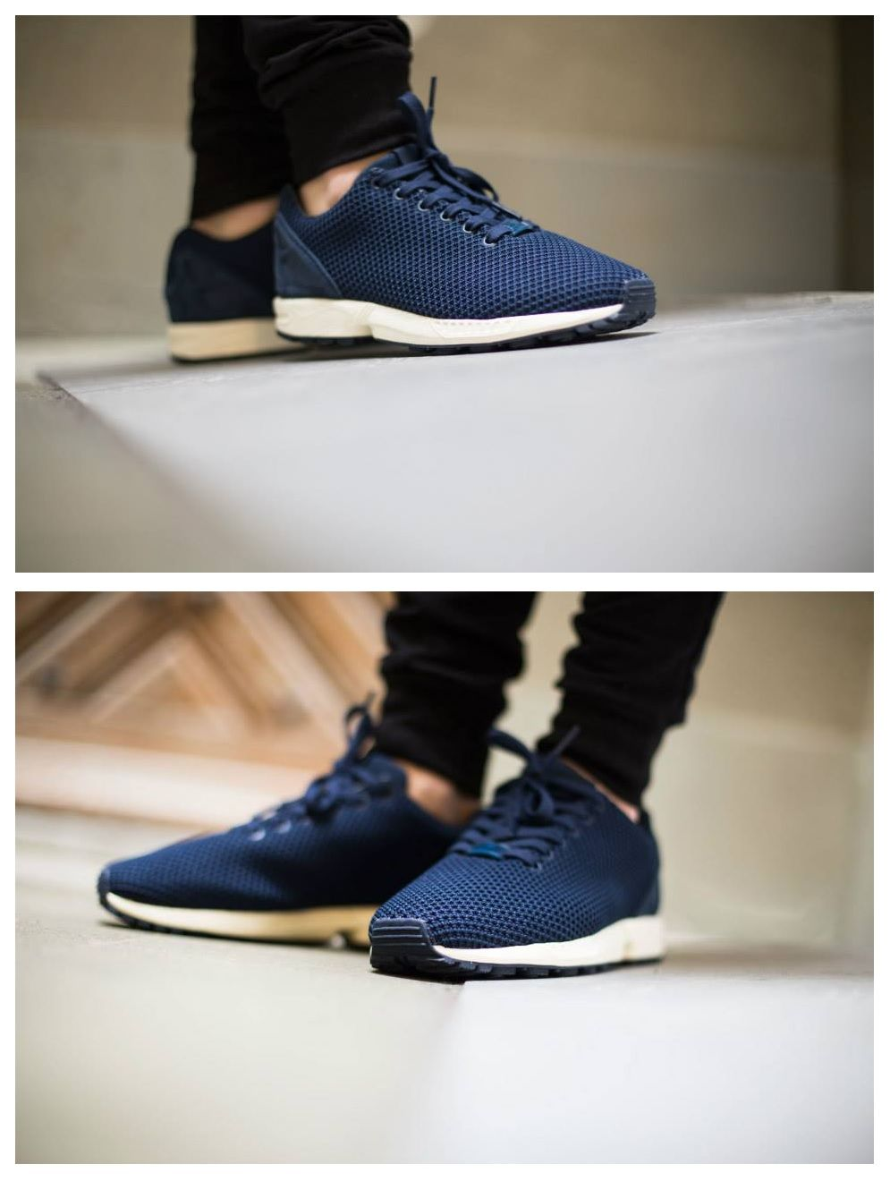 competitive price 04204 5718b adidas ZX Flux Collegiate Navy