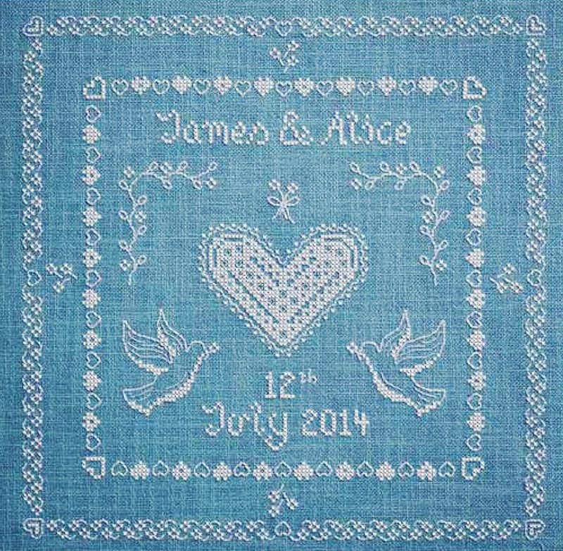 Endless Love - Avaible in Cross Stitcher Collection 236