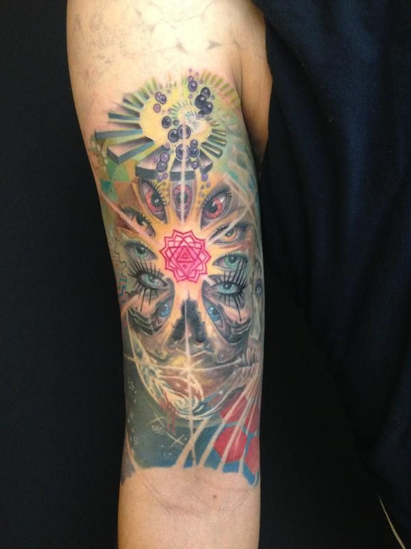 Image Psychedelic Tattoo Gallery Download Psychedelic Tattoos Swirl Tattoo Psychedelic Colors