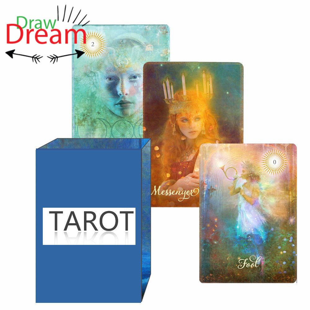 2018 New Good Tarot Cards full English Board Game