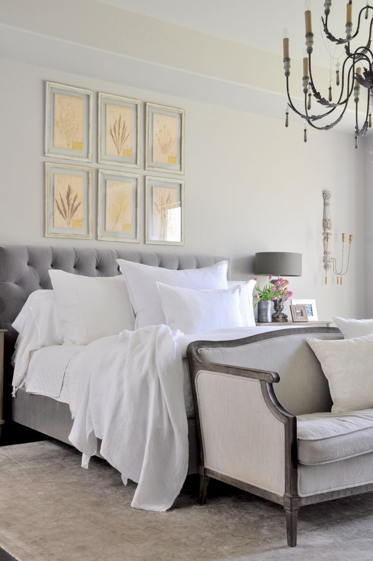 Bright White Bedroom: Bright White Bedroom - Styled For Spring