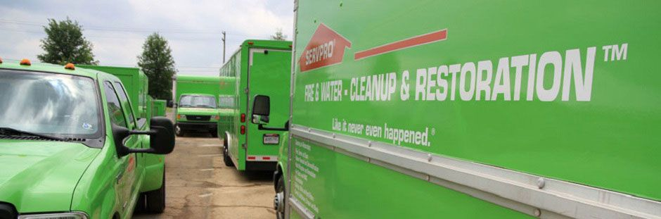 Servpro Franchise Professionals Provide Fire And Water Damage