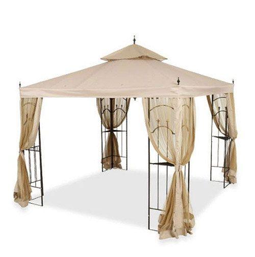 Home Depot Arrow Gazebo Replacement Canopy Cover And Netting Garden Winds Gazebo Replacement Canopy Replacement Canopy Gazebo