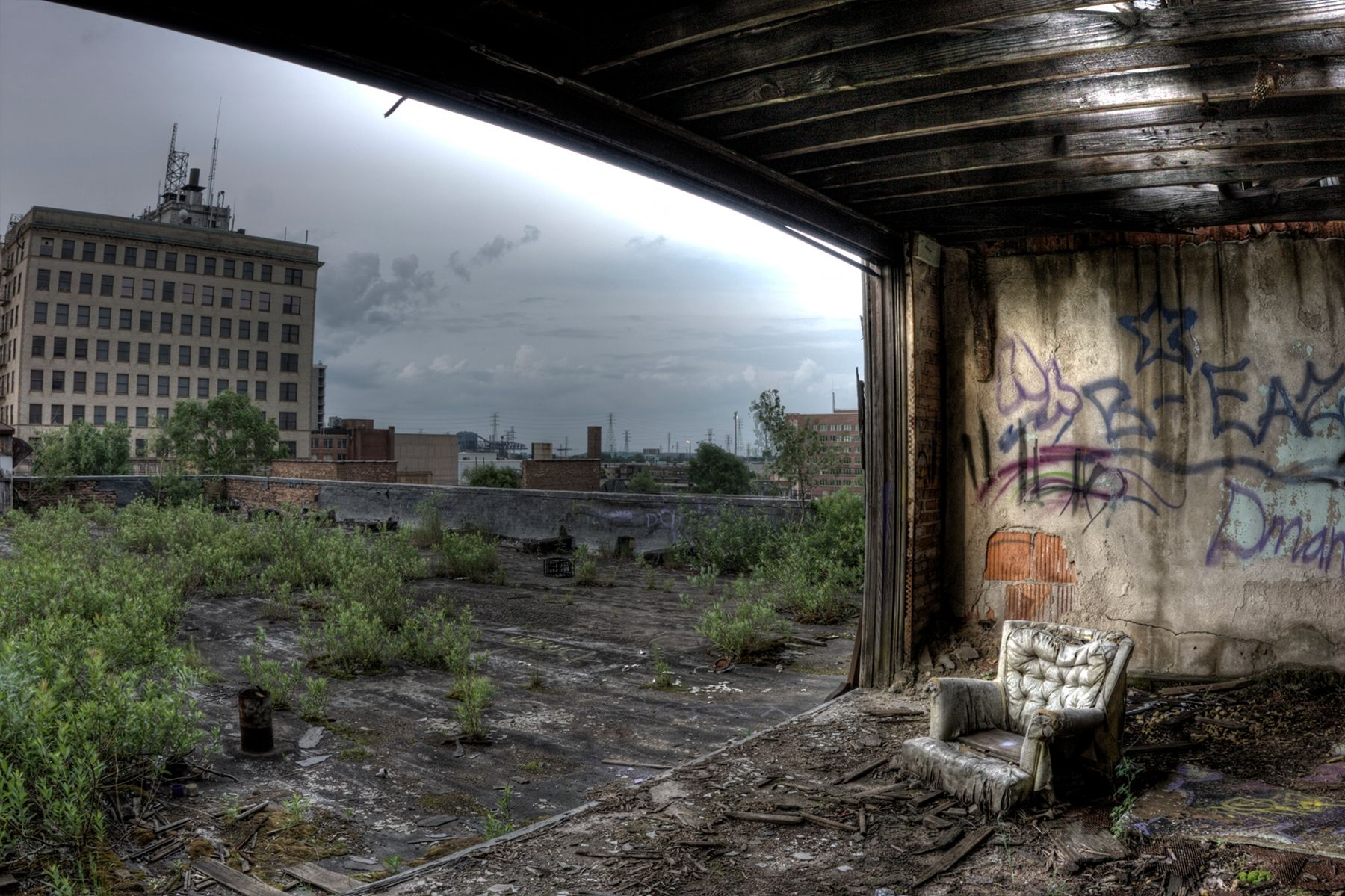 Abandoned City Methodist Church in Gary, Indiana-Take time ...
