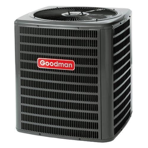 1 5 Ton 14 Seer Goodman Heat Pump Heat Pump Air Conditioner Air Conditioner Condenser Heat Pump