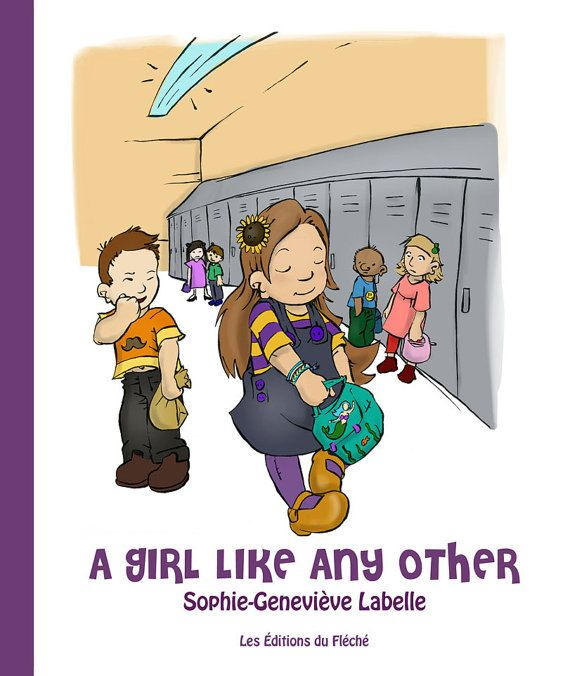 """A Girl Like Any Other"" Children's book about a transgender girl"