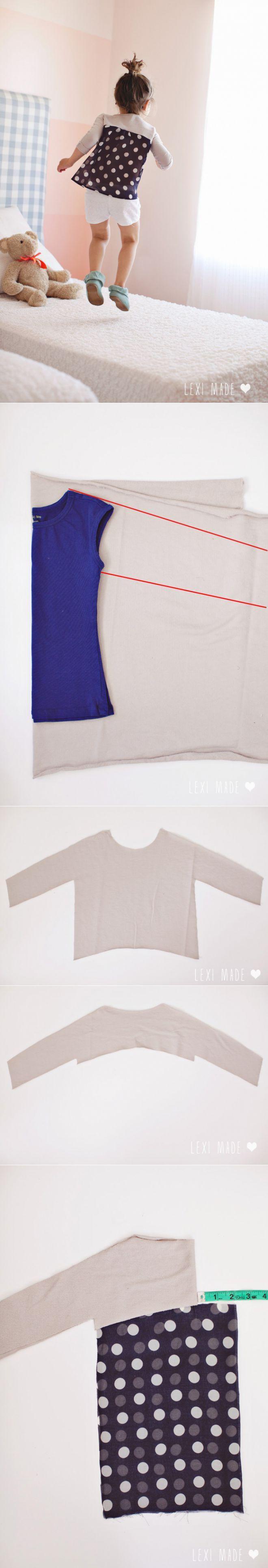 Como coser sin patrones (Diy) \\/ los patrones Simples \\/ la SEGUNDA ...