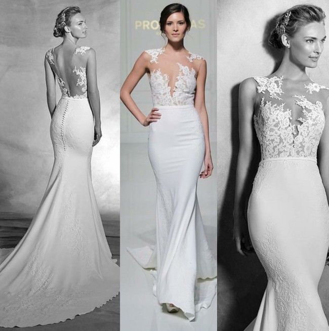 Pronovias Real Wedding Inspiration: Pronovias Vicenta Wedding Dress In 2019