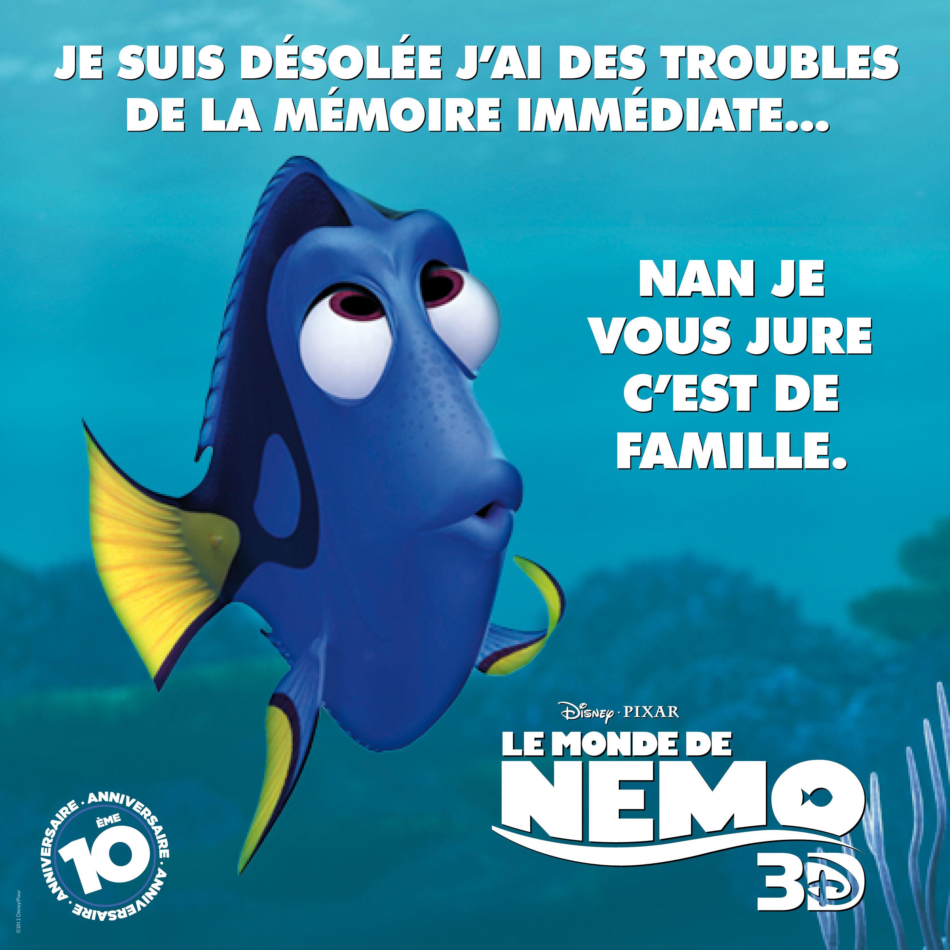 Dory le monde de nemo dory le citascope pinterest - Nemo et doris ...