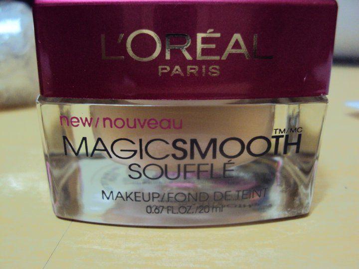 Base Magic Smooth Soufle da L'oreal    http://superrecomendado.blogspot.com.br/2011/07/base-magic-smooth-soufle-da-loreal.html