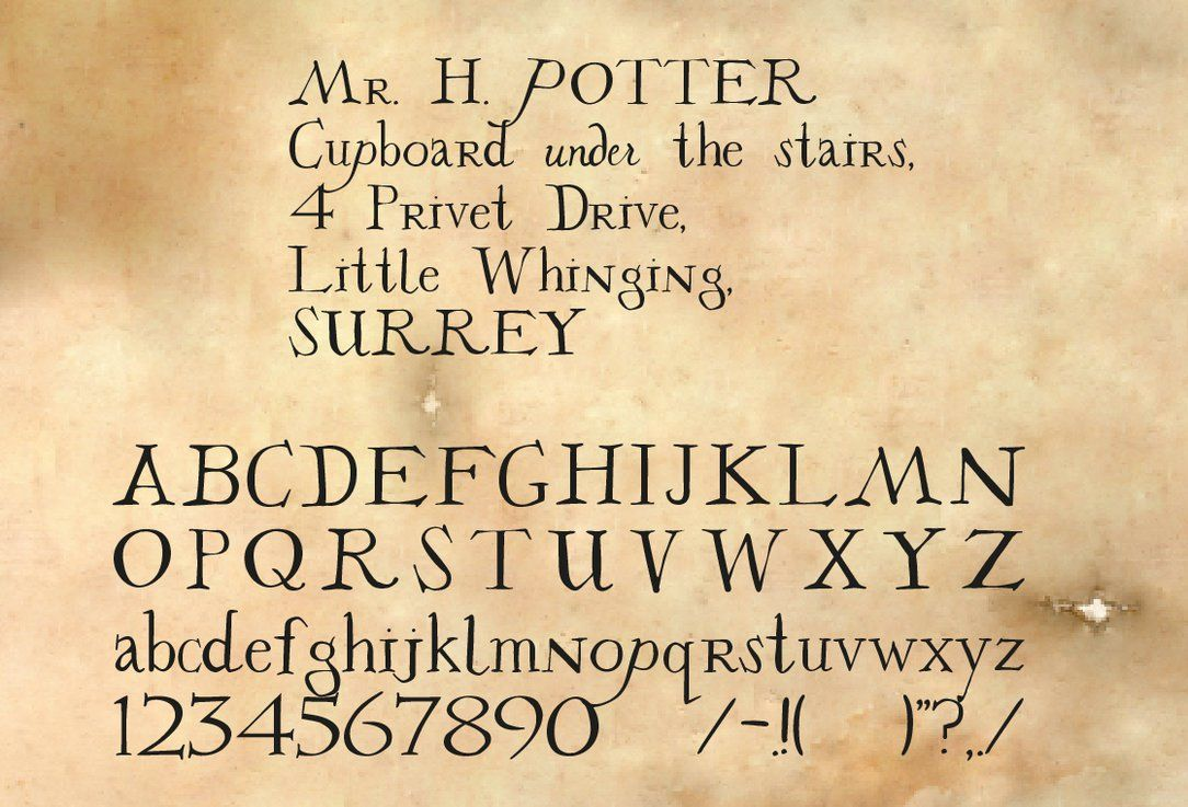 27+ Hogwarts acceptance letter text inspirations