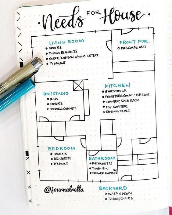 20 Bullet Journal Ideas and Layouts #bulletjournaling