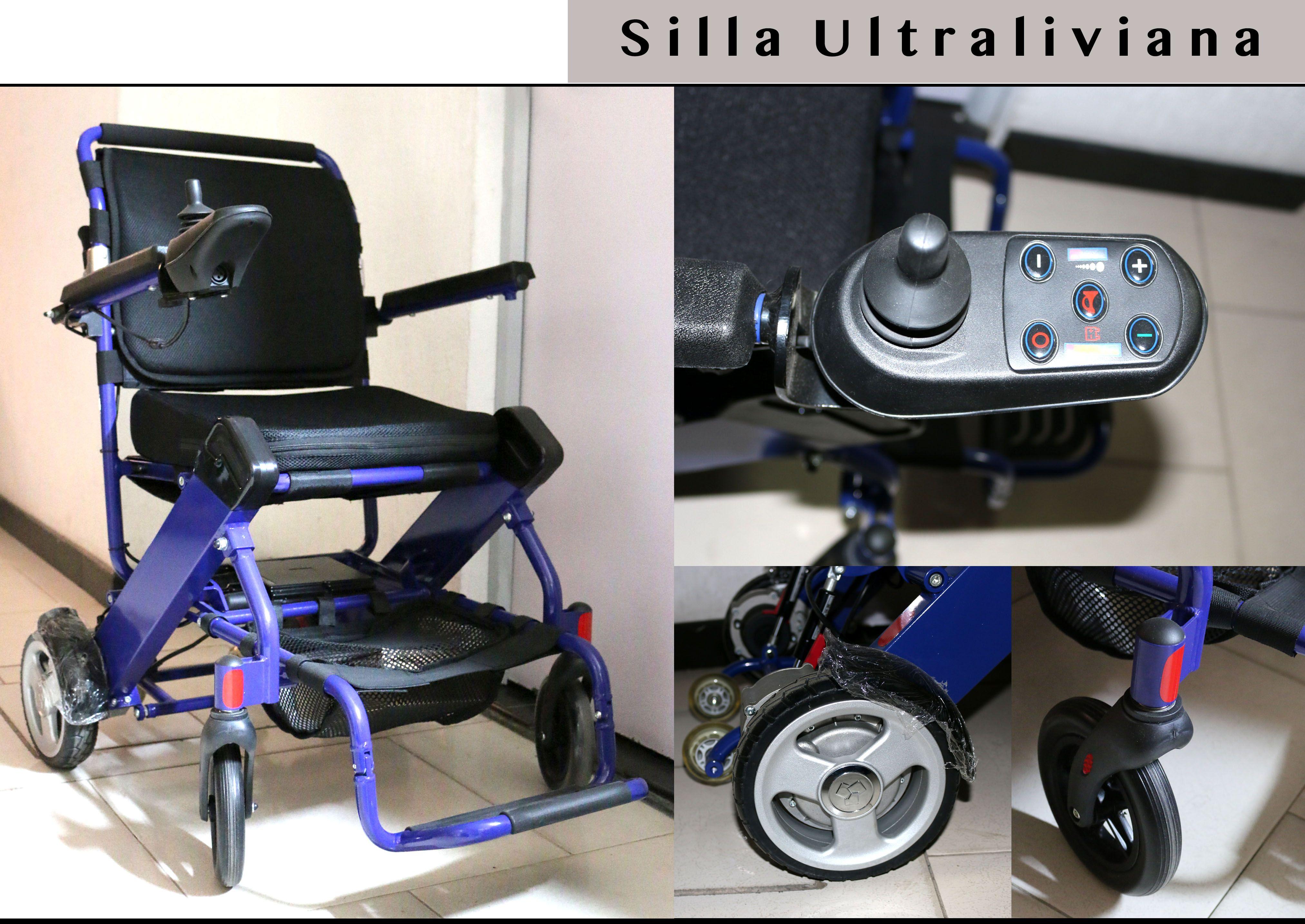 sillas de ruedas electricas plegables en colombia