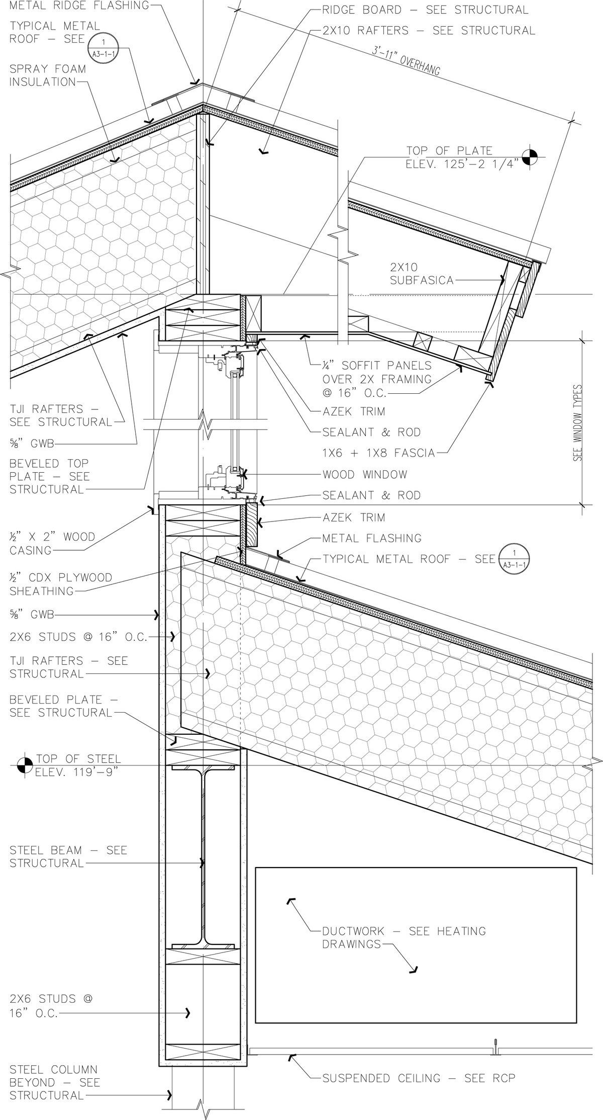 Public Library Archworks Pc Caitlin Daly Archinect Roof Detail Construction Drawings Roof Architecture