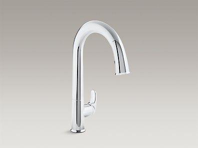 K 72218 Sensate Touchless Pull Down Kitchen Sink Faucet Kohler Modern Kitchen Faucet Touchless Kitchen Faucet Kitchen Faucet