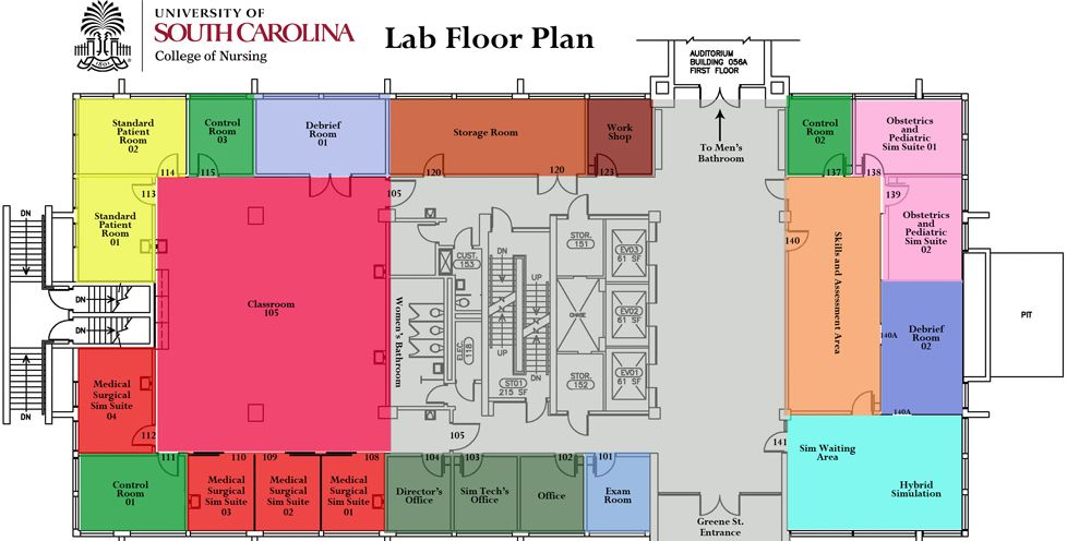 Science Lab Building Sims