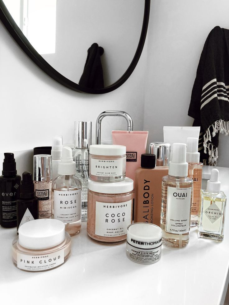 Beauty Products Currently On My Counter | Sivan Ayla