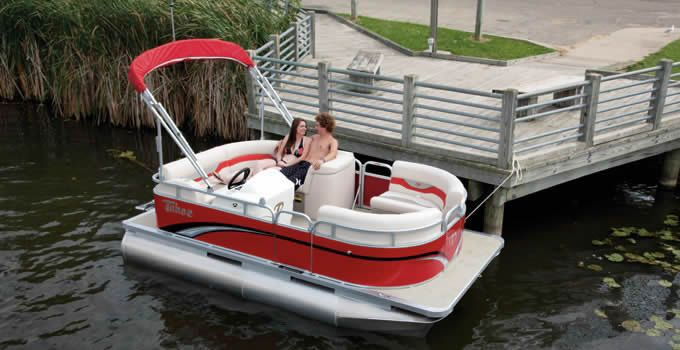 Sport Cruise Pontoon Boat With Images Mini Pontoon Boats