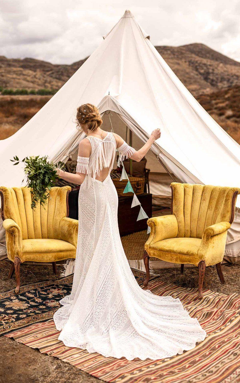 Bridal Dresses   K and B Bridals Bel Air   Boho wedding dress lace ...