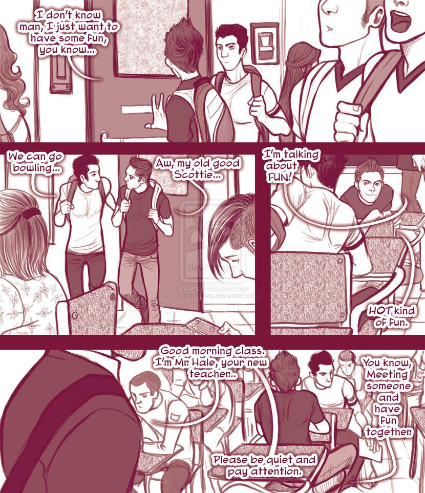 STEREK TEACHER comic commission by Romax pg01 by Slashpalooza on deviantART