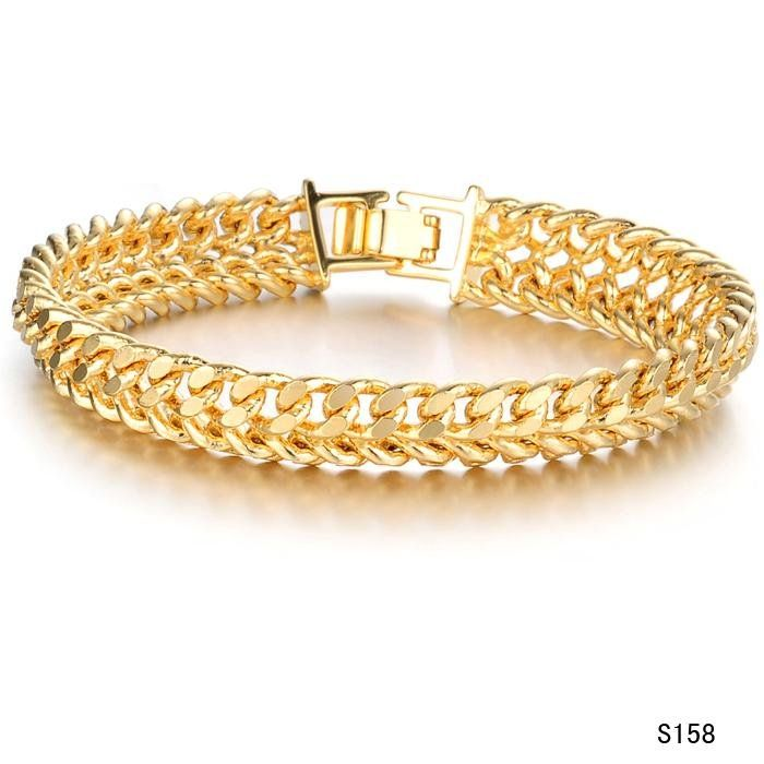 This kind of gold bracelet it has a simplicity and real unique one ...