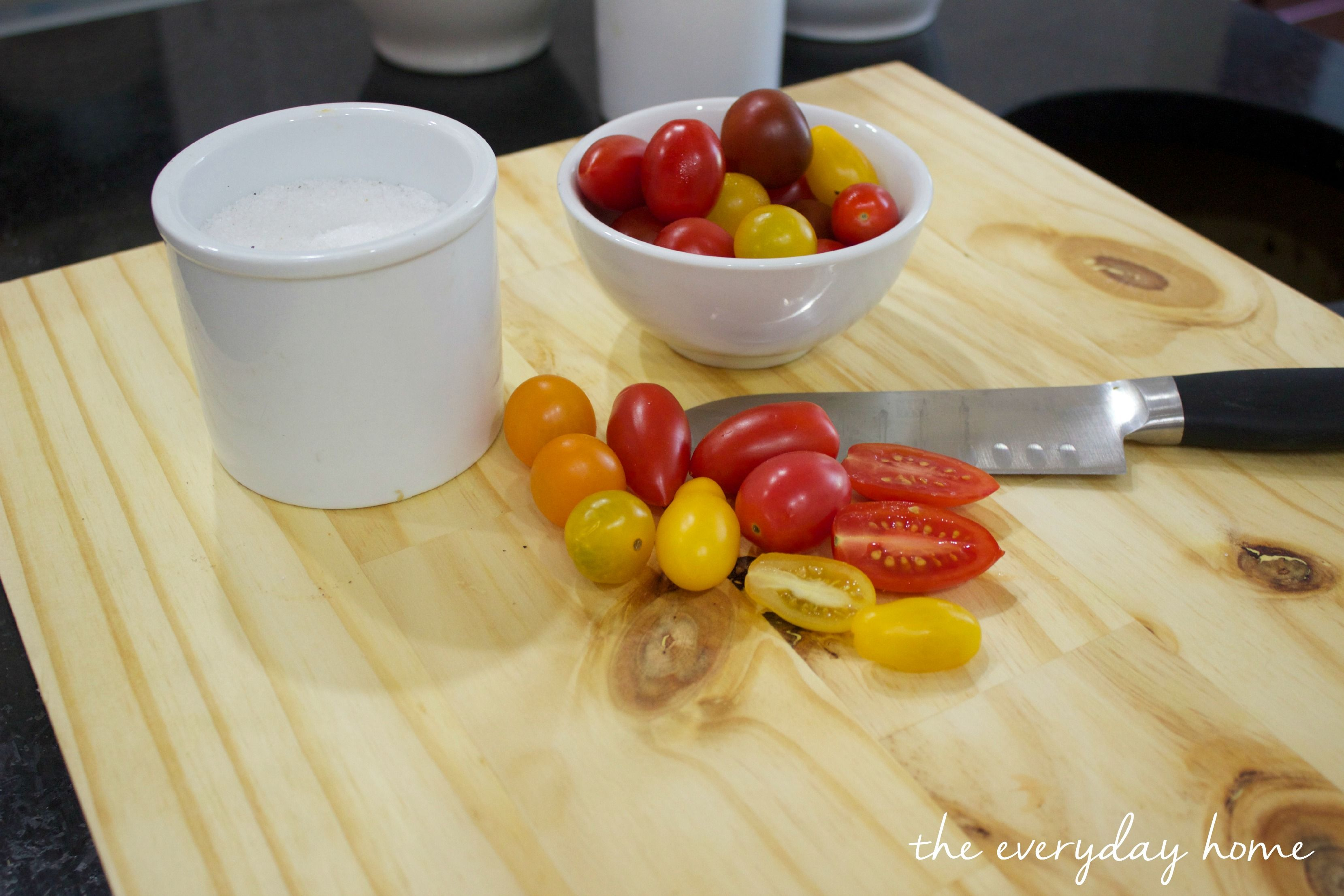 There are so many cutting boards on the market, they are also $$$. For just a few dollars and a few basic steps you can create a custom sized cutting board.