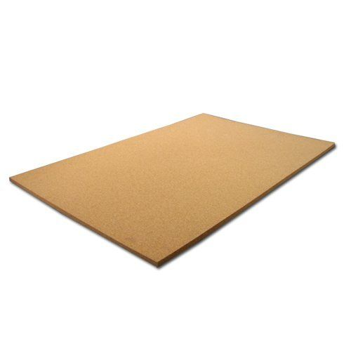 Cork Sheet Plain 24 X 36 1 2 Thick Cleverbrand Cork Sheet Cork Panels Creative Office Space