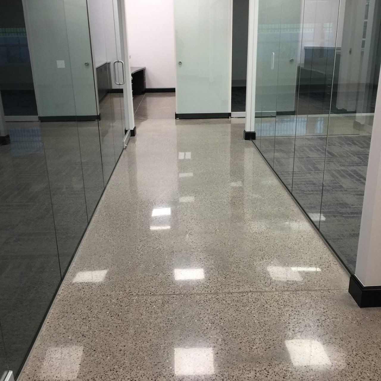 Commercial Concrete Polishing In Oklahoma City Oklahoma Oklahoma - Commercial flooring okc