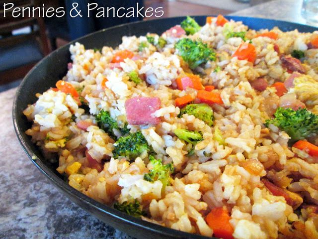 Ingredients 3 cups cold cooked rice 1 cup dry long grain rice amazing fried rice from pennies and pancakes ccuart Choice Image