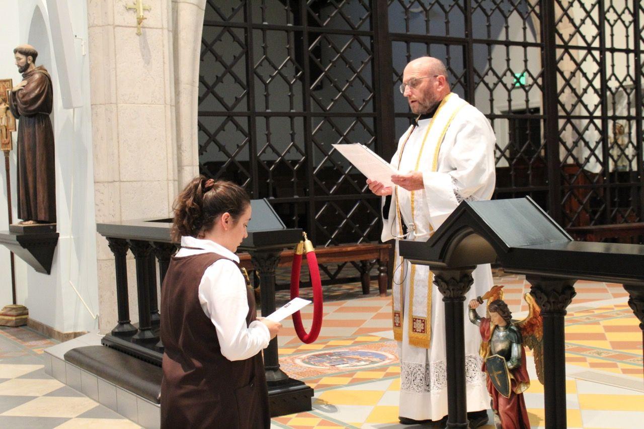 A New Postulant Monastic life, Spiritual life, News