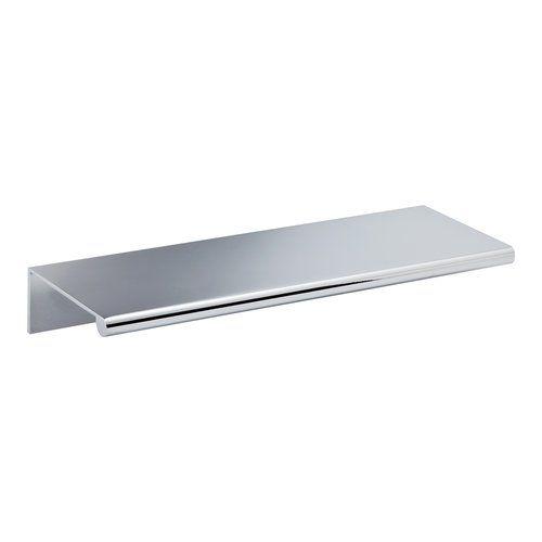 "$7.30 Successi 5 1/8"" Center Bar Pull chrome edge cabinet drawer pull"
