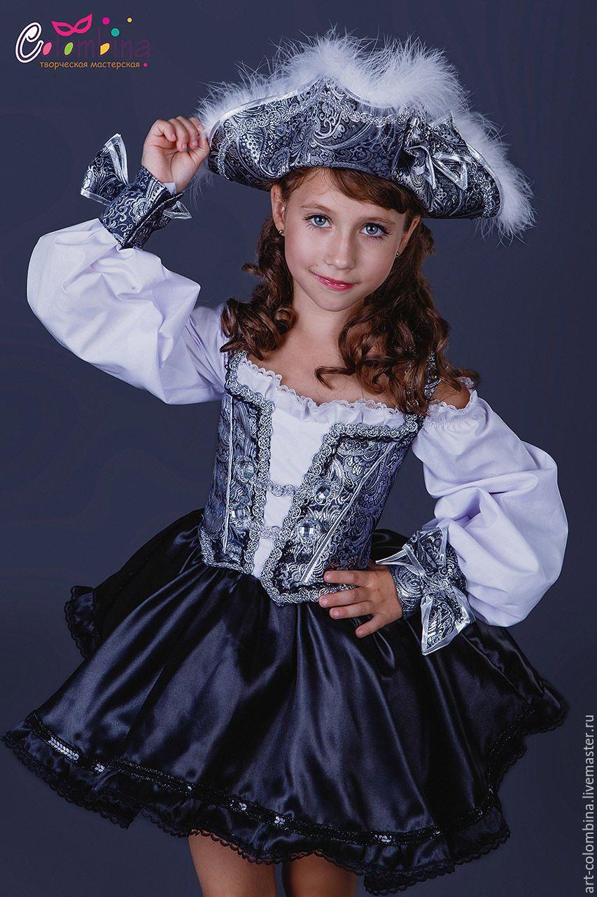 Детские карнавальные костюмы ручной работы. Костюм пиратки ... - photo#46