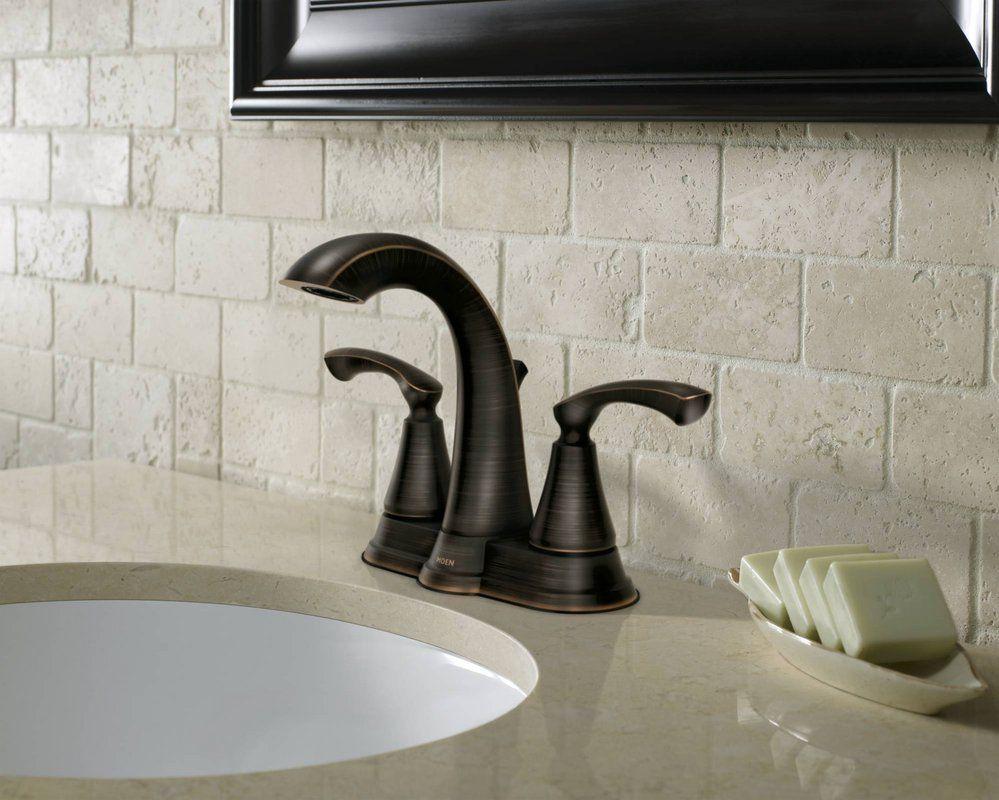 Faucet.com | 84876BRB in Mediterranean Bronze by Moen | faucets ...