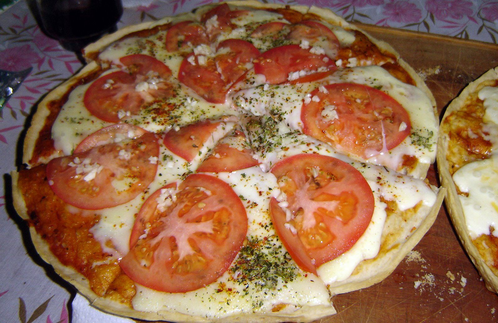 Receta de pizza napolitana casera