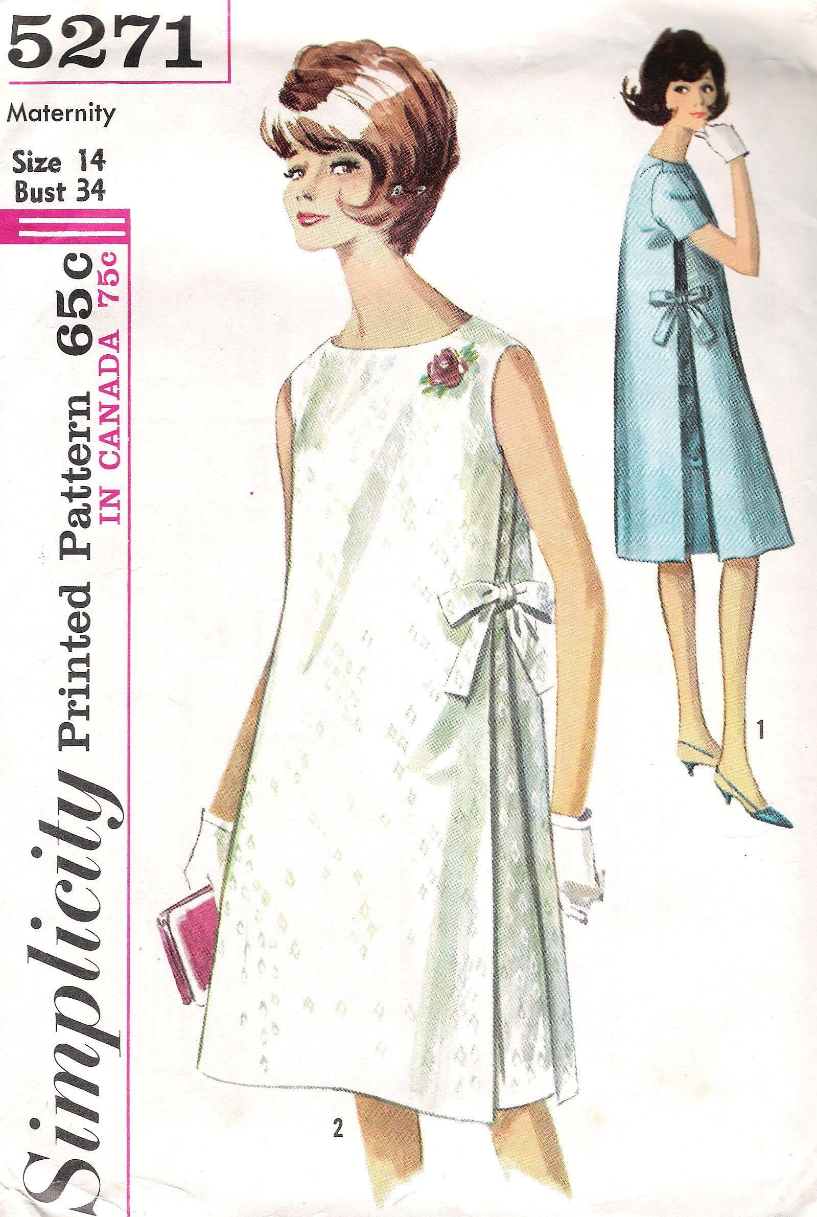 Simplicity 5271 | Moda retro | Pinterest | Moda retro, Costura y Moda